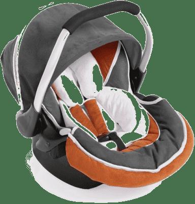 HAUCK Fotelik samochodowy Zero Plus Select orange/grey 2016