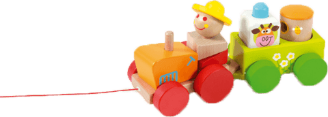 SCRATCH Traktor do ciągania z aktywnościami