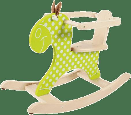 SCRATCH Drewniany konik na biegunach
