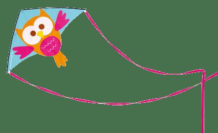 SCRATCH Veľký lietajúci drak Sovička