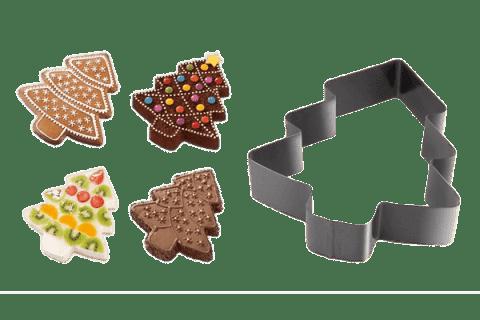 TESCOMA Forma na pečení a vykrajovátka stromeček DELÍCIA