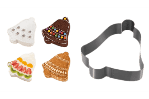 TESCOMA Forma na pečení a vykrajovátka zvoneček DELÍCIA