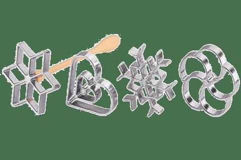 TESCOMA Tvořítka na vaflové rozetky DELÍCIA 4ks