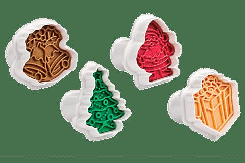 TESCOMA Vykrajovače s vianočným pečiatkou DELÍCIA 4 ks