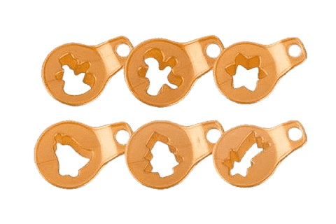TESCOMA Foremki do wykrawania kruchych ciastek bożonarodzeniowych DELÍCIA 8 szt.
