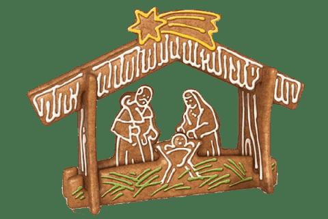 TESCOMA Piernikowy świąteczny żłóbek DELÍCIA zestaw do wykrawania