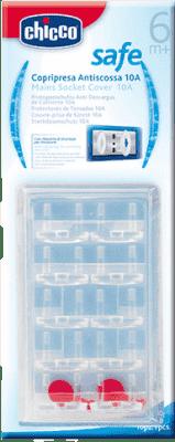 CHICCO Ochrana zásuvky, 10 ks