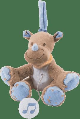 NATTOU Hračka hudobná nosorožec Louis 18 cm