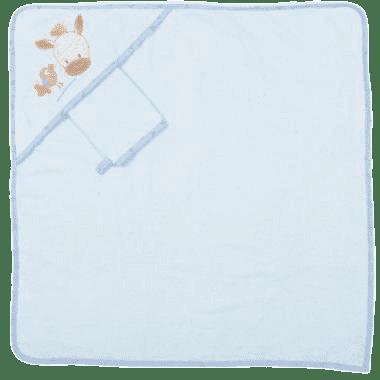 NATTOU Ręcznik z kapturkiem Arthur & Louis