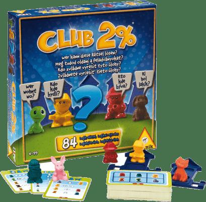PIATNIK Club 2% (CZ, SK) - spoločenská hra