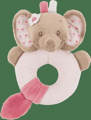 NATTOU Hrkálka sloník Rose