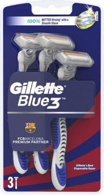 GILLETTE Blue3 – jednorázový pánský holicí strojek, 3 ks