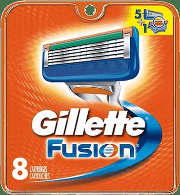 GILLETTE Fusion Manual 8ks - náhradní hlavice