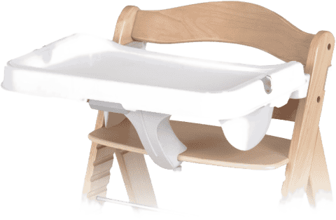 HAUCK Doska k jedálenskej stoličke Alpha Tray white 2016