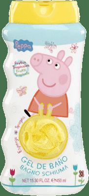 EPLINE Peppa Pig mycí žínka a sprchový gel 450 ml