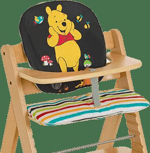 HAUCK Výplň k jídelní židličce Hochstuhlauflage Pooh Tidy Time 2016