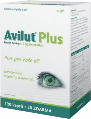 HBF Avilut Plus Recordati -tabliet 120 + 30 zadarmo