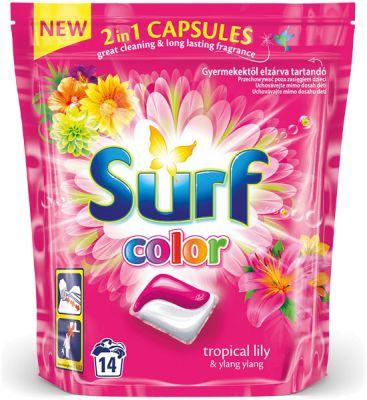 SURF Color Tropical lily 2v1 (14 prań) – kapsułki do prania