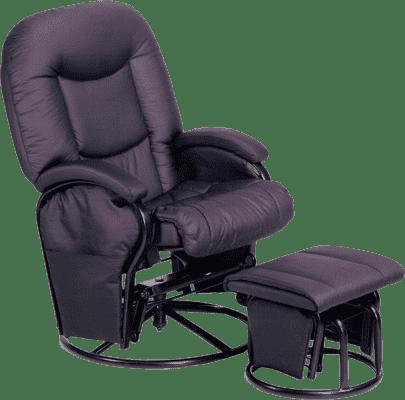 HAUCK Fotel do karmienia Metal Glider black 2016