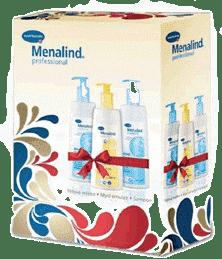MENALIND Professional, Balíček veľký-těl.mléko + umývacia emulzia + šampón