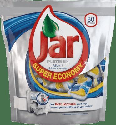 JAR Platinum kapsule na umývanie riadu 80ks