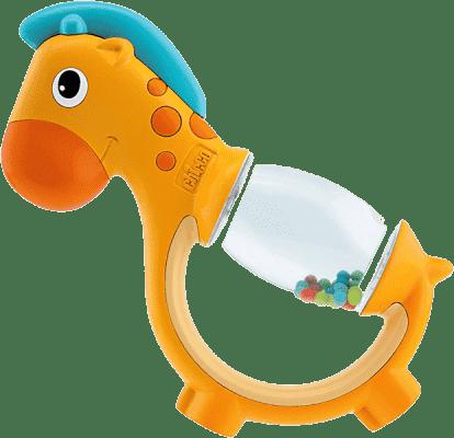 CHICCO Chrastítko žirafa zrcátko