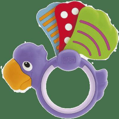 CHICCO Hrkálka papagáj krídelká