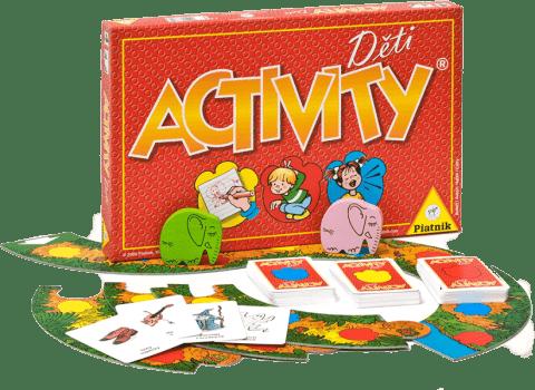 PIATNIK Activity Děti (CZ,SK) – společenská hra