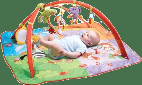 TINY LOVE Hrací deka s hrazdou Gymini® Move&Play