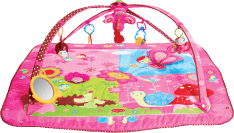 TINY LOVE Hracia deka s hrazdou Gymini® Tiny Princess ™ Move & Play