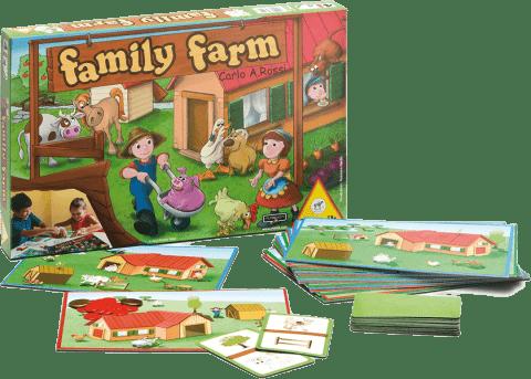 PIATNIK Family Farm (CZ, SK, PL) - spoločenská hra