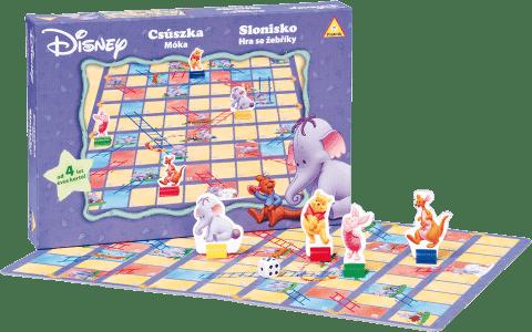 PIATNIK Slonisko - Hra sa rebríky WD (CZ) - spoločenská hra
