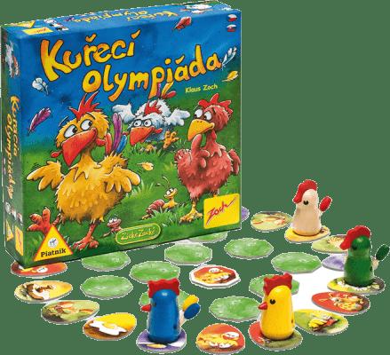 PIATNIK Kuracie olympiáda (CZ, SK) - spoločenská hra