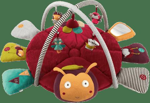 MAMAS&PAPAS Hrací deka s hrazdou Beruška Lotty