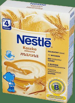 NESTLÉ Kaszka mleczna manna (250g)
