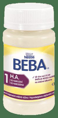 32x NESTLÉ BEBA HA (90 ml) - hypoalergénne dojčenské mlieko