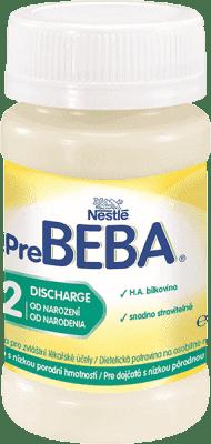 32x NESTLÉ BEBA Pre 2 Discharge (90 ml) - hypoalergénne dojčenské mlieko