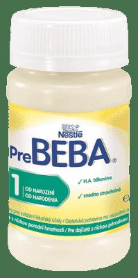 32x NESTLÉ BEBA Pre 1 (90 ml) - hypoalergénne dojčenské mlieko