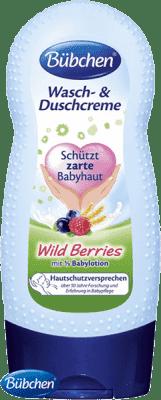 BÜBCHEN umývacie sprchový krém WildBerries 230ml