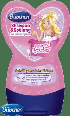 BÜBCHEN Kids Szampon z odżywką 2w1 Księżniczka Rosalea 230ml