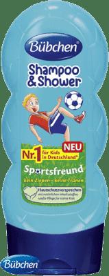 BÜBCHEN Kids šampón sprchový gél 2v1 Malý Futbalista 230ml