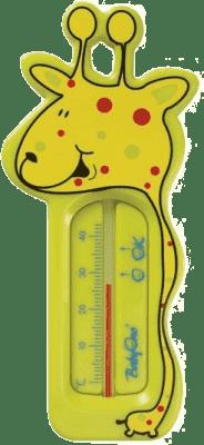 BABY ONO Teploměr do vody žirafa - zelená