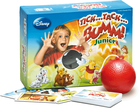 PIATNIK Tik Tak Bum Junior WALT DISNEY (CZ, SK) - spoločenská hra