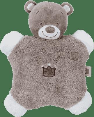 NATTOU Hrkálka vankúšik medvedík Tom