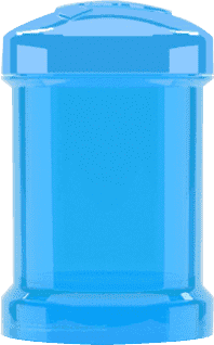 TWISTSHAKE Zásobník 2ks Modrá