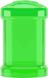 TWISTSHAKE Zbiornik 2 szt. Zielony