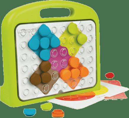 CLIC Edukacyjna Mozaika ze skrzynką – Kształty i kolory