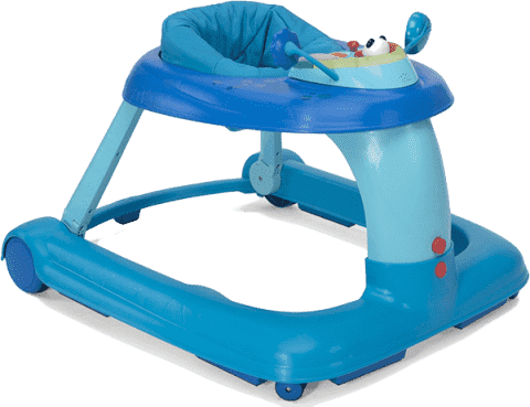CHICCO Chodzik 1 2 3 15 light blue