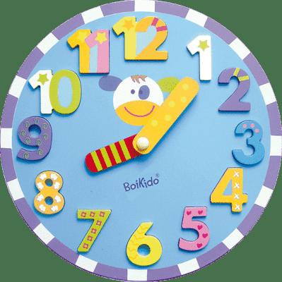 BOIKIDO drevené Hodiny puzzle