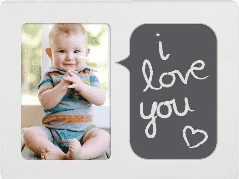 PEARHEAD Dětský fotorámeček Baby Talk